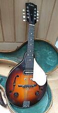 More details for vintage gibson em-150 electric mandolin. 1940s. in original case.