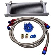 13 row oil cooler With relocation kit  M20 x 1.5 & 3/4 x 16 UNF Thread Adapter