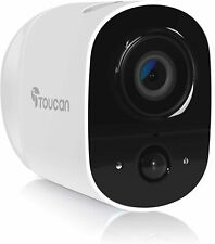 Outdoor Security Camera Wireless Rechargeable Battery Surveillance Camera 1080P