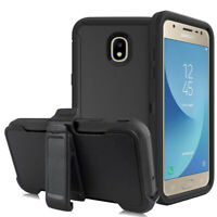For Samsung Galaxy J7 2018/Crown/Refine/Star Case Clip Stand Cover Fits Otterbox