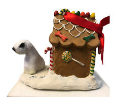 Sealyham Terrier Christmas Ornament Gingerbread Dog House New Gift