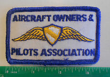 Vintage Aircraft Owner's Pilots Association Patch