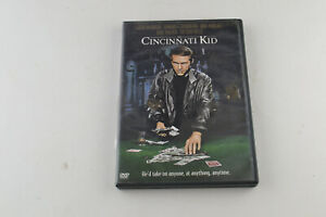 Cincinnati Kid Movie DVD Steve McQueen Poker Gambling New Orleans Card Game