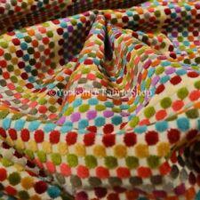 Tessuti e stoffe multicolore velluto per hobby creativi al metro