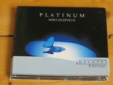 2 CD MIKE OLDFIELD Platinum (expanded deluxe edition) Live at Wembley, London