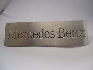 Einstiegemblem aus Edelstahl Mercedes-Benz Actros Antos Arocs