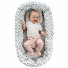Alvi Babynest Kuschelnest - Babynestchen Set mit Matratze und Baby-Kopfkissen