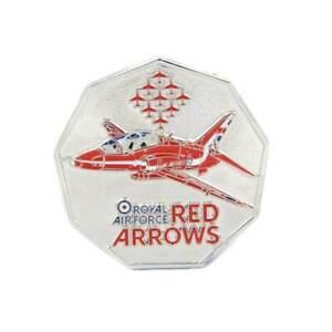Red Arrows Nonagon Coin