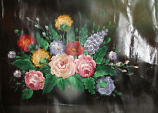 Still life floral flowers oil painting