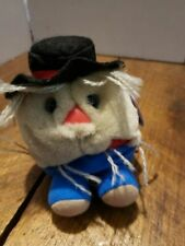 Puffkins by SWIBCO Stuffed Plush Animal Patches Scarecrow Limited Edition 1999
