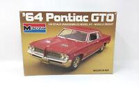 Monogram 1964 Pontiac GTO Kit #2714 1/24 VTG Open Used Complete 1985 Issue K-72