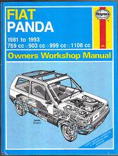 Fiat Panda 1981-1993  Haynes Owners Workshop Manual