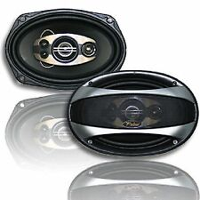 "6x9"" Pair of Car Speakers Front Door or Rear 4 way 500w 4 ohm Brand New"