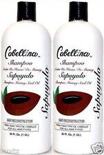 2x Cabellina Sapuyulo MAMEY Seed Oil Shampoo Aceite De Hueso De Mamey 32oz Each