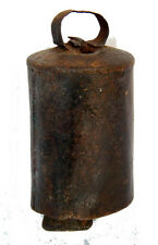 Cloche de Vache Ancienne Metal 225g H=12cm Metal Cow Bell Tha-in-daga Inde 5