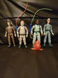 The Real Ghostbusters, Full Set Of Original Figures, Two Proton Packs And...
