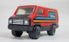 RARE Vintage 1979 Orange Tonka Pressed Steel Metal Cargo Party Van