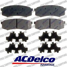 ACDelco 14D606CH Rear Disc Brake Pads For Toyota 4Runner Sequoia Land Crusier