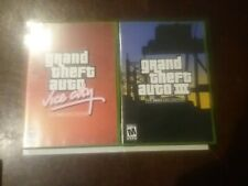 Xbox Grand Theft Auto Double Pack without sleeve cover . Games Complete