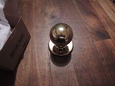 Weiser Brass Dummy Door Knob