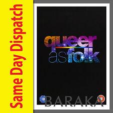 Queer As Folk USA Complete Season Series 1, 2, 3, 4 & 5 Complete DVD Box Set 1-5