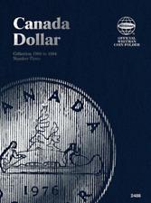 Whitman Canadian Dollar Coin Folder 1968-1984 Volume 3 #2488