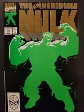 Incredible Hulk #377 First Professor Hulk Second Print Marvel Nm