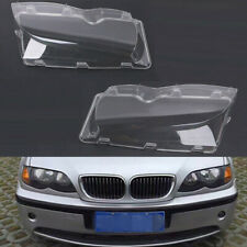 Polycarbonate Headlight Glass Cover Clear Lens For BMW 3 Series E46 2002-2005 #K