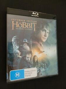THE HOBBIT: UNEXPECTED JOURNEY - Extended Edition - Blu-Ray - FREE POST!!