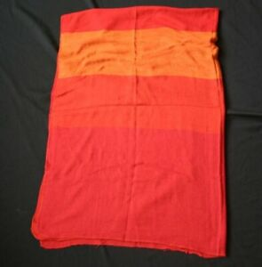 SCANDINAVIAN AIRLINE Color Stripe In Flight Blanket