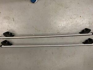 Thule Aluminium Roof Rack Rail Bars Audi A3 Sportback 2004-2012  for Flush Rails