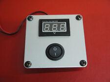 VW campervan etc volt meter in mount with switch 12 volts UK supplier
