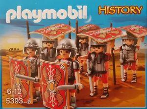 PLAYMOBIL 5393 Römer-Angriffstrupp 6 Legionären mit Waffen und Schilden Neu/Ovp