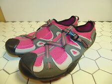 SPERRY TOP-SIDER SON-R TECHNOLOGY WOMENS CRISSCROSS STRAPS BOAT SHOES SZ 10m