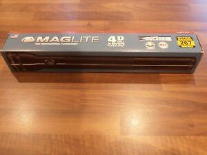 Maglite Torch 4 D Cell Black BNIB