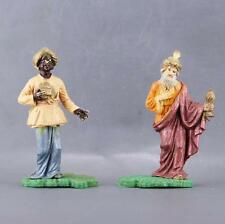 Lot de 2 rois mages Figurines Nardi