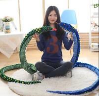Snake Pillow Plush Soft Toy Stuffed Long Beautiful Wonderful Life Partner Worth