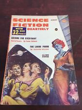 August 1957 Science Fiction Quarterly Pulp Fiction Isaac Asimov