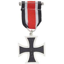 Copia riproduzione metallo CROCE FERRO Prussia Germania 1870 medaglia militare