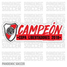 River Plate Campeon Libertadores Argentina Vinyl Sticker Decal Calcomania CARP