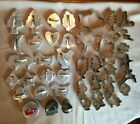 41 Assorted Vintage Metal Cookie Cutters- Some With Raised Handles