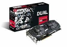 ASUS Radeon RX 580 4GB Dual-fan OC Edition (DUAL-RX580-O4G) Sealed New Free ship
