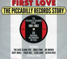 First Love - The Piccadilly Records Story 1961-1962 3CD NEW/SEALED