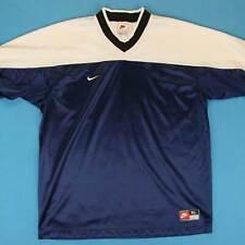 90s NIKE Vintage Jersey ~ Men XL ~ Blue White Team Sports Athletic T Shirt Tee