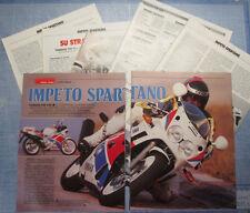 MOTOSPRINT989-PROVA / TEST-1989- YAMAHA FZR 600 - 7 fogli