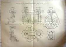 1899 Compound Corliss Engines Sheffield Electric Tramway's
