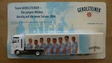 """Hümmer 1:87 MAN Koffersattelzug """"Gerolsteiner 2004 1/3"""" #26554#"""