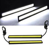 LED Head Car Light Strip Fog Driving Daylight Running Ultra-thin Lamp HOT