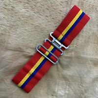 BRITISH ARMY SURPLUS ROYAL MILITARY ACADEMY SANDHURST STABLE BELT, UNIFORM DRESS