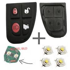 Autoschlüssel Schlüssel Tastenfeld für Jaguar X TYPE S TYPE XJ8 XJR 4 + Taster